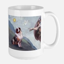 Creation & Aussie #1 Large Mug
