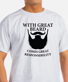 Beard Humor Saying T-Shirt