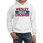 Trek Wesley Crusher 2016 Hoodie - This funny election design is for fans of Star Trek The Next Generation's infamous acting ensign. Vote Wesley Crusher in 2016! - Availble Sizes:Small,Medium,Large,X-Large,2X-Large (+$3.00) - Availble Colors: White,Heather Grey