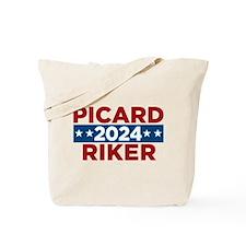 Star Trek Picard Riker 2016 Tote Bag