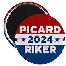 Star Trek Picard Riker 2016 Magnets
