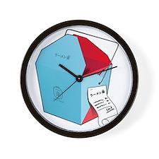 Ichiraku Ramen to go Wall Clock