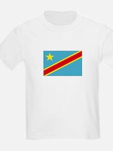 Congo-Kinshasa Kids T-Shirt