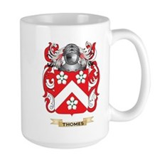 Thomes Family Crest (Coat of Arms) Mugs
