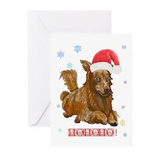 Santa Doxie! Christmas Cards