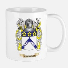 Thomsen Family Crest (Coat of Arms) Mugs