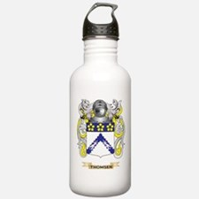 Thomsen Family Crest (Coat of Arms) Water Bottle