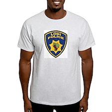 Lodi Police Ash Grey T-Shirt