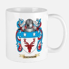 Thomson Family Crest (Coat of Arms) Mugs