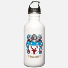 Thomson Family Crest (Coat of Arms) Water Bottle