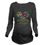 Butterflygrandmother.png Long Sleeve Maternity T-S