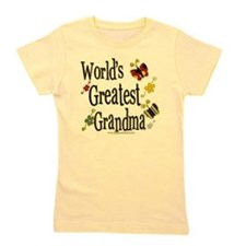 Butterflyworldsgreatestgrandma copy.png Girl's Tee