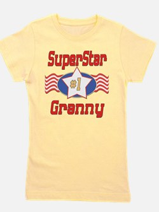 SUPERSTARGranny.png Girl's Tee