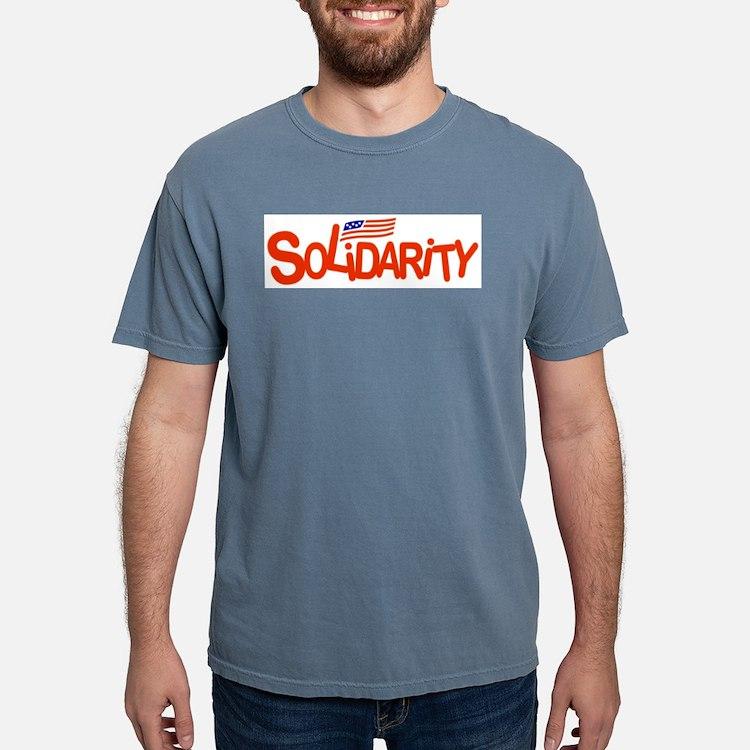 Cute Solidarity Mens Comfort Colors Shirt