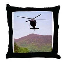 Blackhawk Approach Throw Pillow