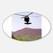 Blackhawk Approach Oval Decal