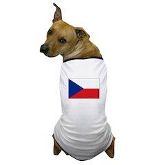 Czech Republic Dog T-Shirt