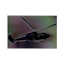 Blackhawk Hover Rectangle Magnet