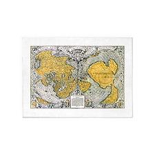 World Map 1531 5'x7'Area Rug