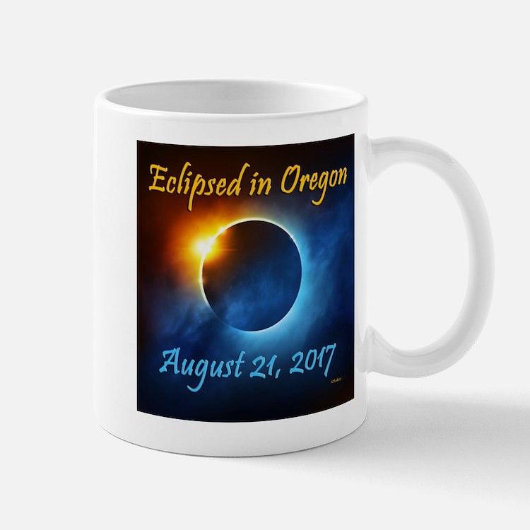 Oregon Solar Eclipse 2017 Mugs
