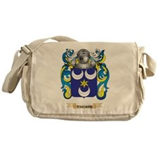 Thorpe Family Crest (Coat of Arms) Messenger Bag