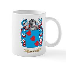 Thorsen Family Crest (Coat of Arms) Mugs