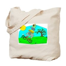 Big 5 Wheelie! Tote Bag