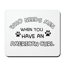 american curl designs Mousepad