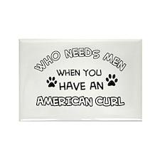 american curl designs Rectangle Magnet