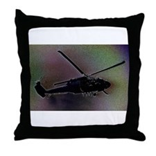 Blackhawk Hover Throw Pillow