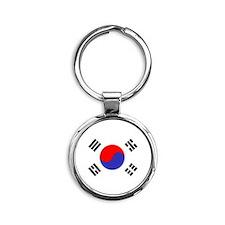 Flag South Korea Keychains