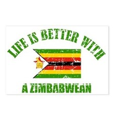 Life is better with a Zimbabwean Postcards (Packag