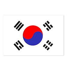Flag South Korea Postcards (Package of 8)