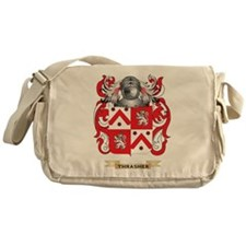 Thrasher Family Crest (Coat of Arms) Messenger Bag