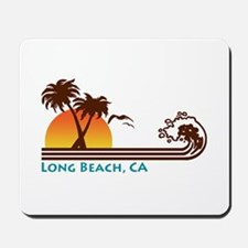 Long Beach California Mousepad
