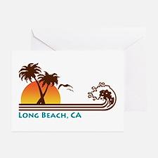 Long Beach California Greeting Cards (Pk of 10