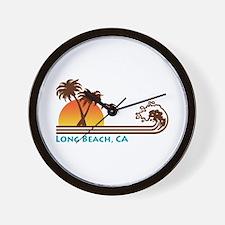 Long Beach California Wall Clock