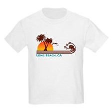 Long Beach California Kids T-Shirt