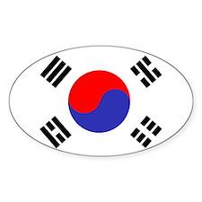 Flag South Korea Decal