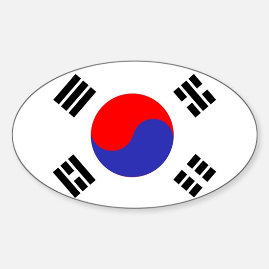 Flag South Korea Decal