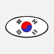 Flag South Korea Patches