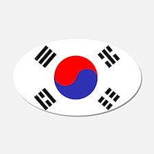 Flag South Korea Wall Decal