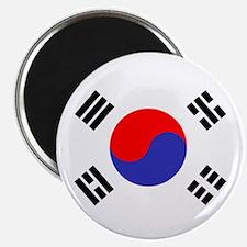 Flag South Korea Magnets
