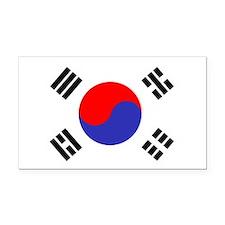 Flag South Korea Rectangle Car Magnet