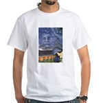 Easter Island White T-Shirt