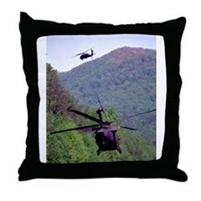 Mountain Weaving Throw Pillow