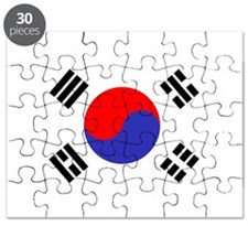 Flag South Korea Puzzle