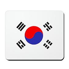 Flag South Korea Mousepad