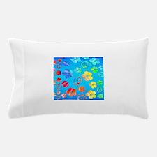 Hawaiian Tie Dyed Honu Pillow Case