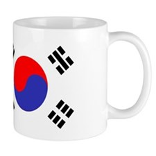 Flag South Korea Mugs